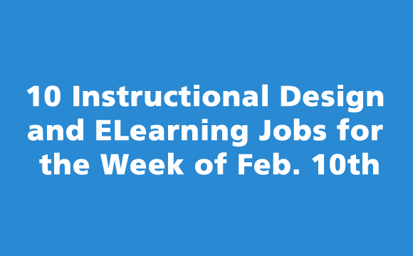 10 Instructional Design and Elearning Jobs